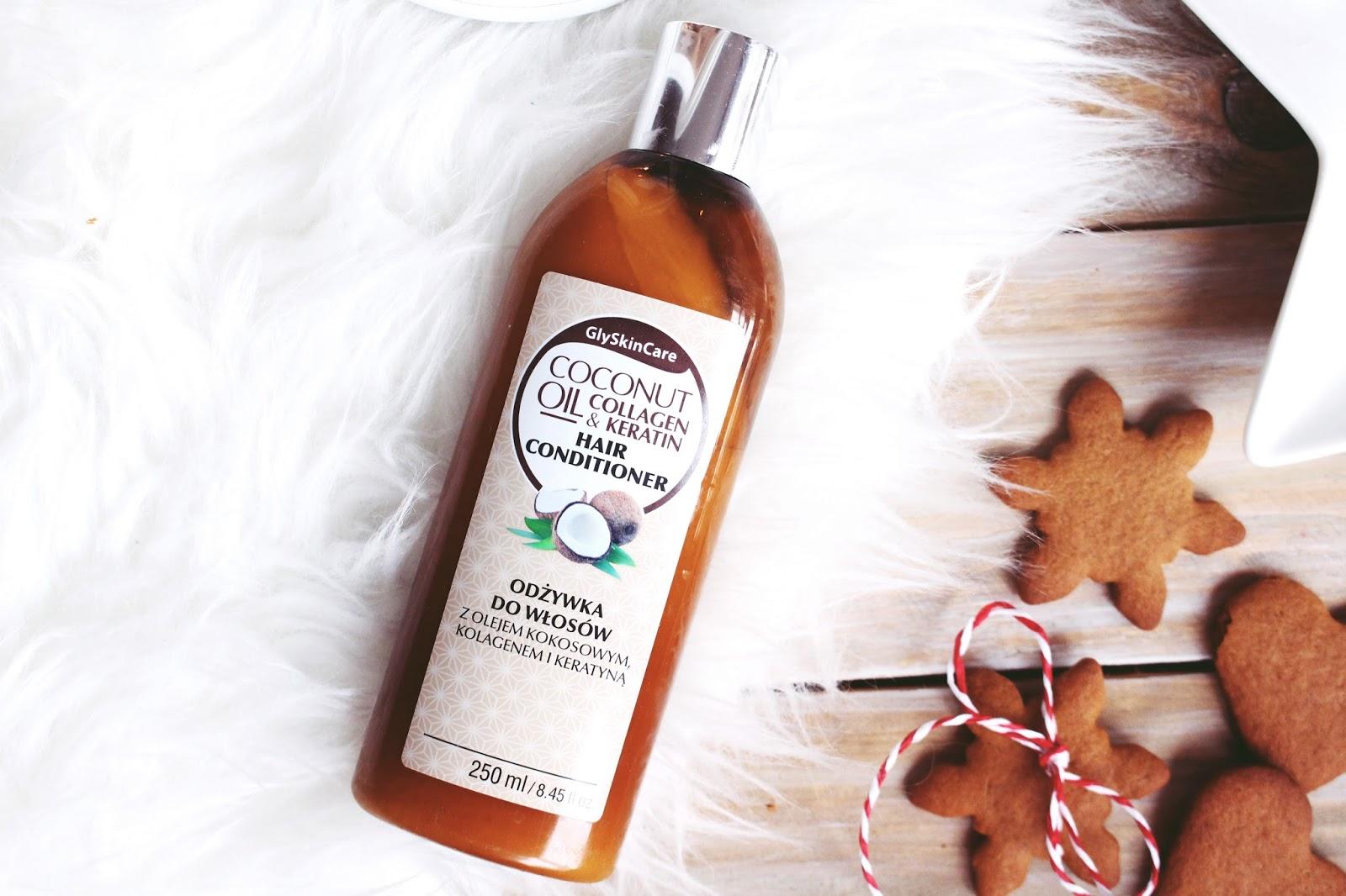 Gly Skin Care ➤ Odżywka do włosów z olejem kokosowym