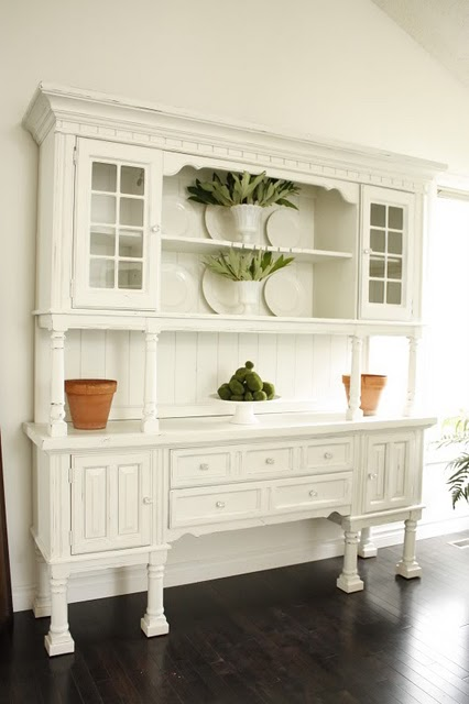Dining Room Hutches Small Hutch Furniture Room Furniture: Shorely Chic: Dining Hutch Re-Do