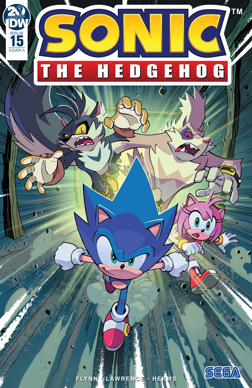 Hedgehogs Can T Swim Sonic The Hedgehog Idw Issue 15