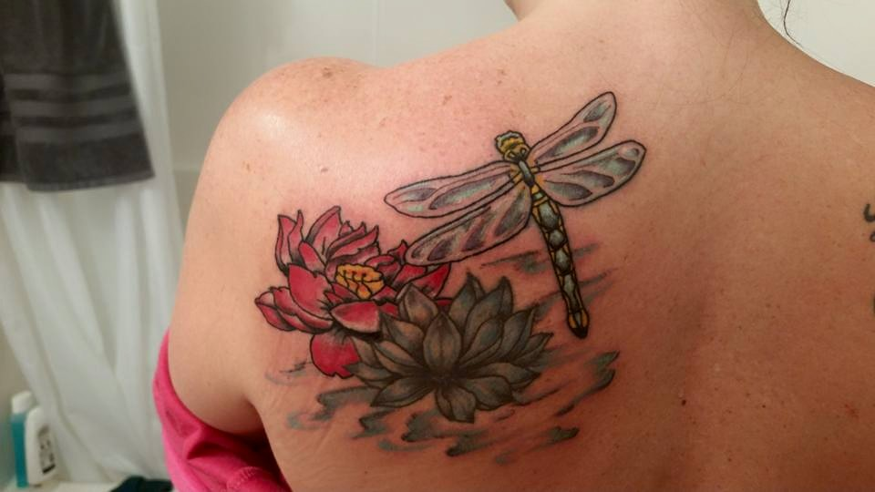Jaimieas You Wish Filer Art Of Doom Lotus And Dragonfly