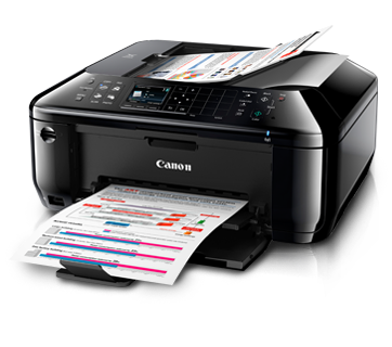 download Canon PIXMA MX517 Inkjet printer's driver