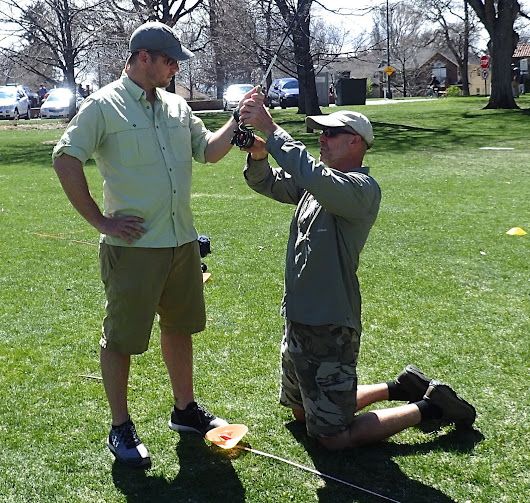 Denver Fly Fishing Lessons in West Wash Park
