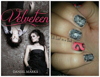 Literary Nails: Velveteen by Daniel Marks
