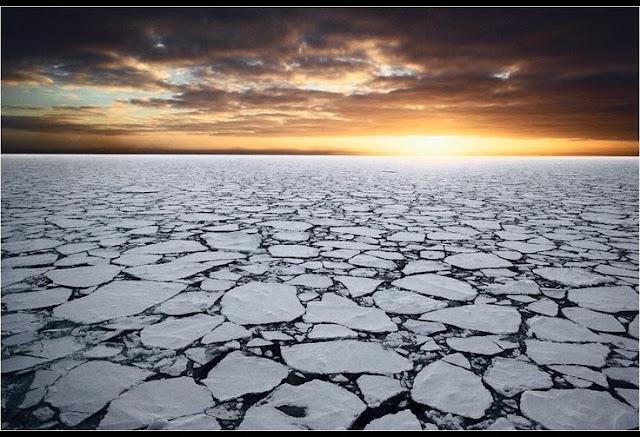 Seja na Antártida ou no Ártico o sol faz seu caminho