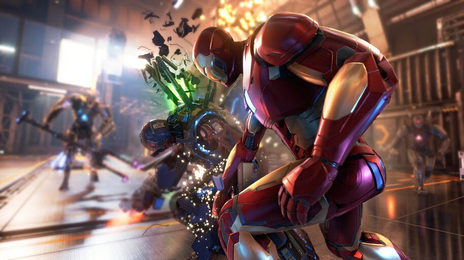 Iron Man, Marvels Avengers, 4K, #3.2314