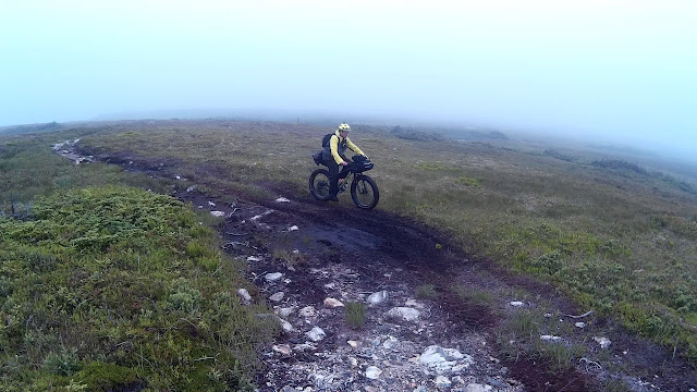 Bikepacking U24O Adventure Riding Arkel Norco Ithaqua Clam Cove Newfoundland Fatbike Republic Fat Bike