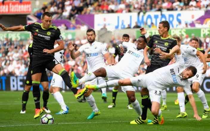 [EPL match] Swansea 2 - Chelsea 2