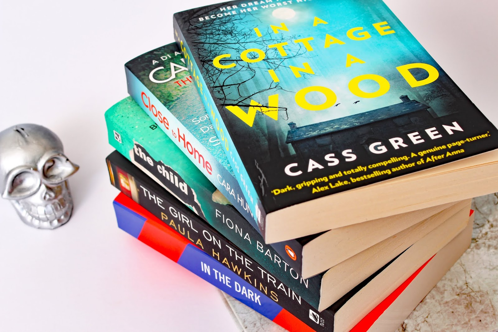 My Favourite Thriller Books scary psychological crime murder death spooky