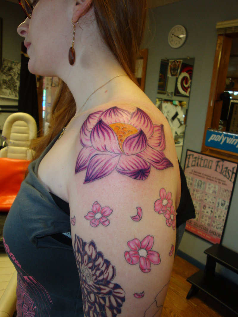 Flower Tattoo Designs For Women Unique