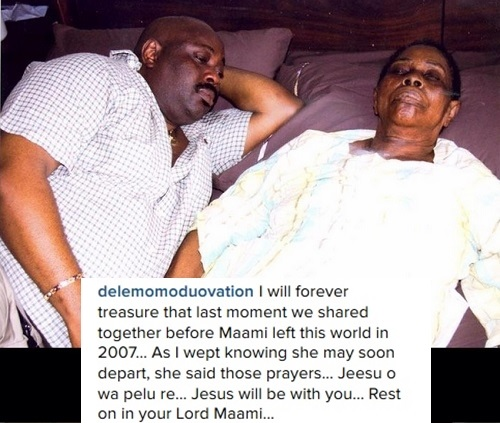 Dele Momodu Shares Gripping Deathbed Photos of His Late Mother as He Pens Emotional Tribute
