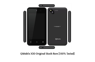 QMobile X30 MT6572 Scatter Firmware File [Tested]