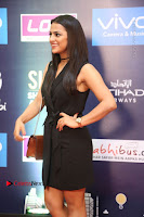 Actress Shraddha Srinath Stills in Black Short Dress at SIIMA Short Film Awards 2017 .COM 0030.JPG