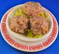 Chinese food Beef Ball Delicious
