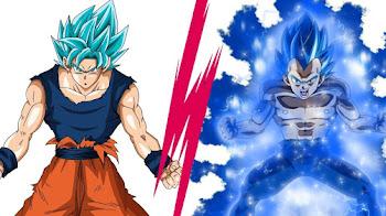 Diferencias de un Super Saiyajin Blue Perfecto y del estado Más Allá del Super Saiyajin Blue