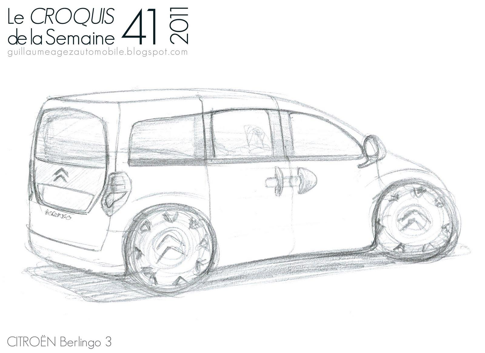 Guillaume AGEZ Automobile: Le Croquis de la semaine (41