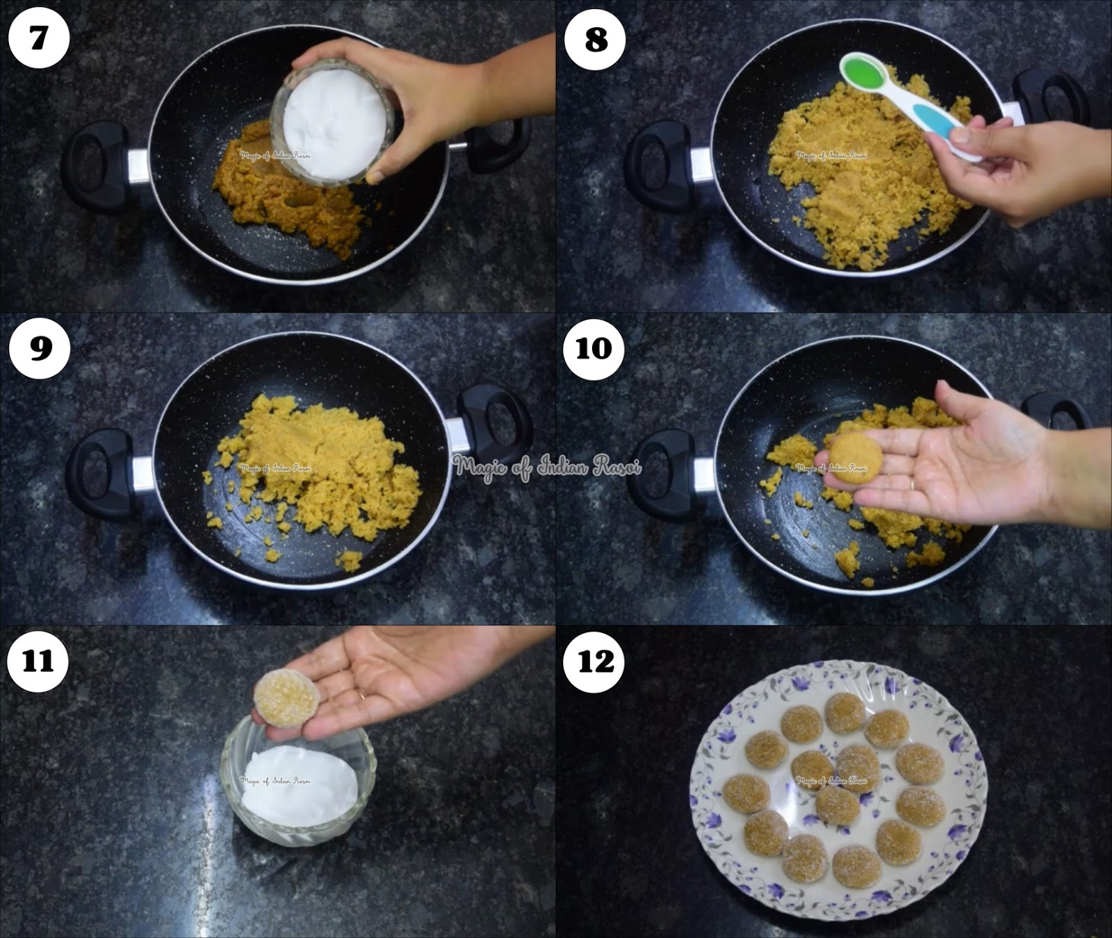 Mathura Peda Recipe - Mathura ke Pede - 1