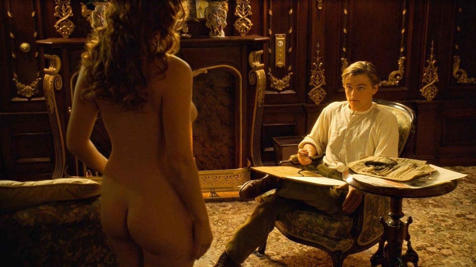 Kate Winslet Naked On Titanic 74