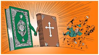 Christian,islam,jesus,bibel,koran