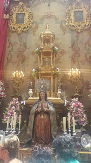 Altar del Corpus en Sevilla