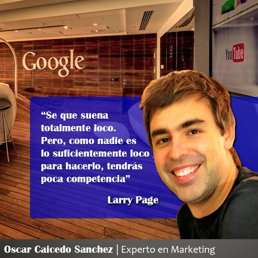 Frases de Larry Page (Cofundador de Google)