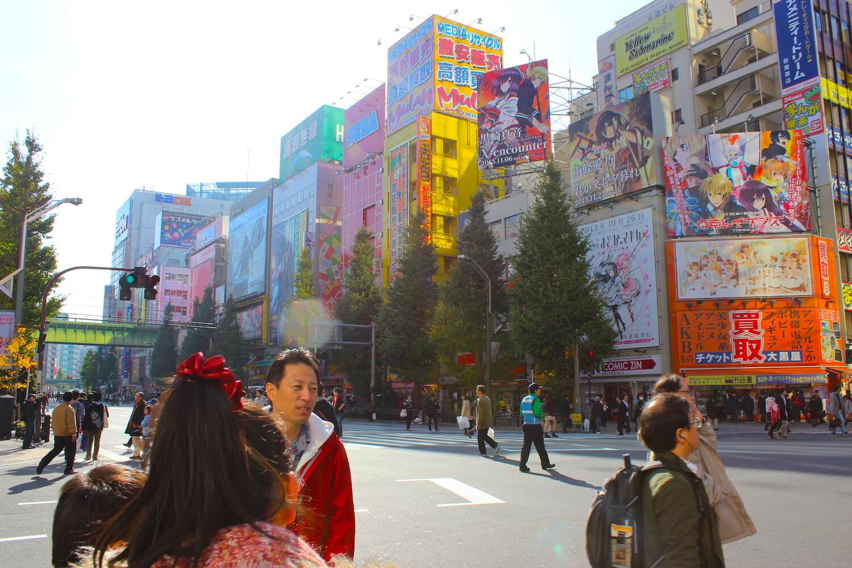 tokyo akihabara main street