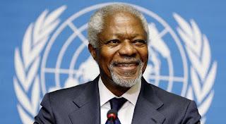 وفاة الامين العام السابق للامم المتحدة والحائز على جائزة نوبل للسلام كوفي عنان عن عمر 80 سنة