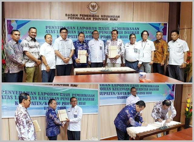 Keberhasilan Pemkab. Meranti Raih 7 Kali WTP, Penerima LHP BPK RI Pertama di Riau