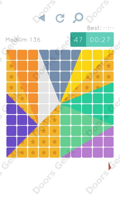 Cheats, Walkthrough for Blocks and Shapes Medium Level 136