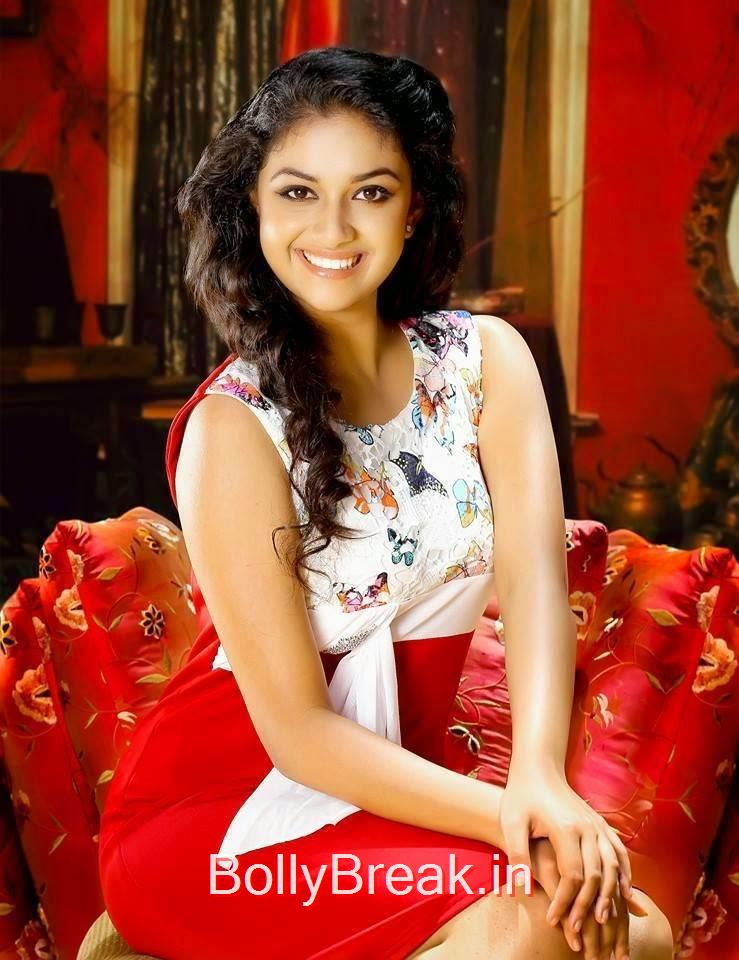 Telugu Actress Keerthi Suresh, Hot HD Pics of Keerthi Suresh From Latest Photoshoot