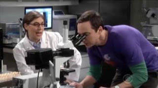 "Scene from ""The Big Bang Theory"" entitled ""The Brain Bowl Incubation"""