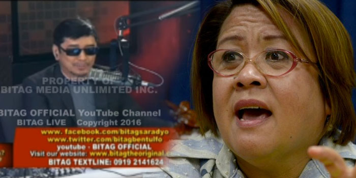 "WATCH: Ben Tulfo Ginisa Si De Lima ""Ginagawang Puching Bag Sa Social Media"""