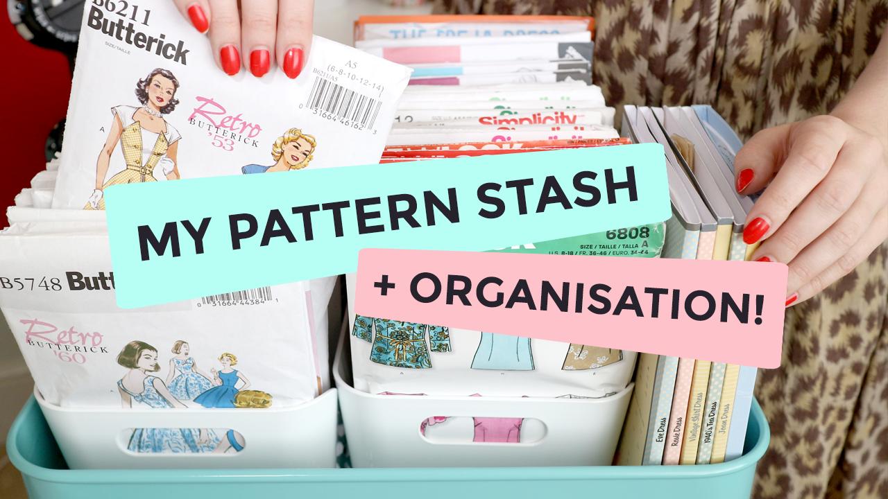 My Sewing Pattern Stash & Organisation (+ shopping list!)