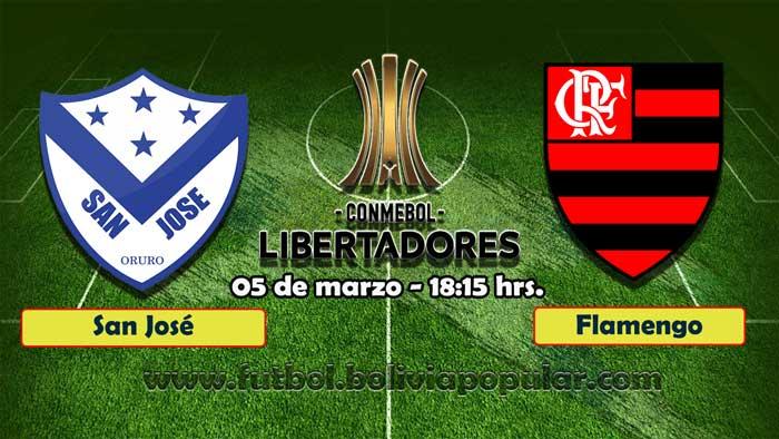 【En Vivo】San José vs. Flamengo - Copa Libertadores 2019