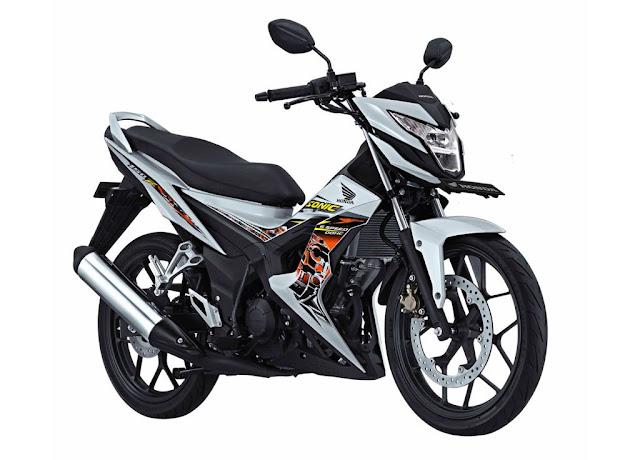 Tampilan Motor Honda Sonic 2015
