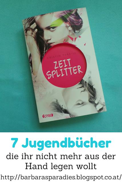 7 Jugendbücher, die ihr nicht mehr aus der Hand legen wollt - Zeitsplitter von Cristin Terrill