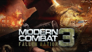 Modern Combat 3 Fallen Nation apk hd free download