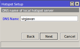 Cara konfigurasi hotspot pada mikrotik