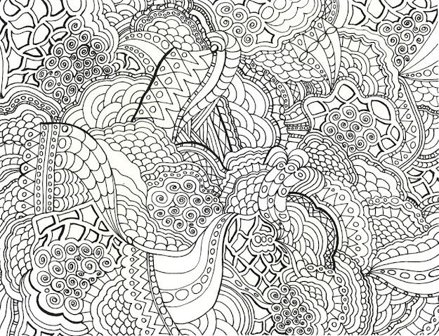 Very Detailed Pattern Coloring Pages  Enjoy Coloring