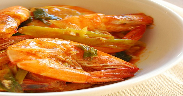 Shrimp With Sambal Recipe
