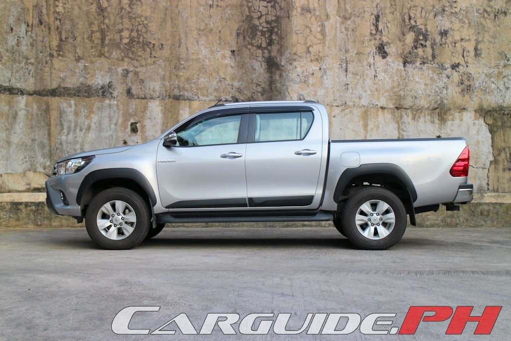 Review 2015 Toyota Hilux 4x2 G M T Philippine Car News