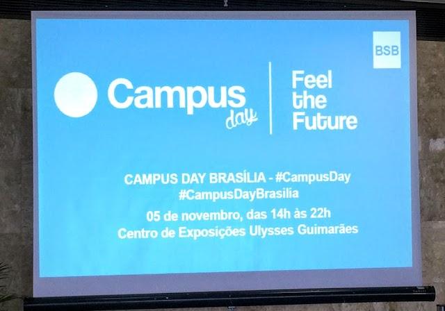 Campus Day Brasília será no sábado (5)