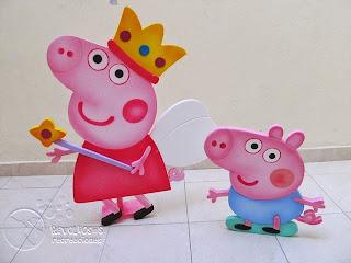 DECORACION FIESTA TEMATICA PEPPA PIG MEDELLIN