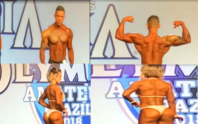 Scandal: Synthol Athlete Get Award At Amateur Olympia 2018 Brazil