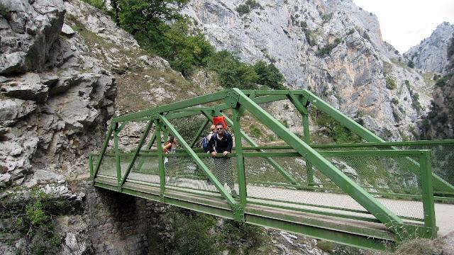 Pont Bolín. El Cares