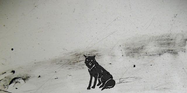 l'oeil du loup, dessin alaska, Kristelle Paré