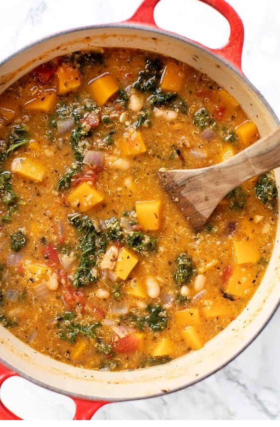 Tuscan Kale & White Bean Stew