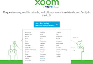 XOOM PayPal, Nigeria, South and others