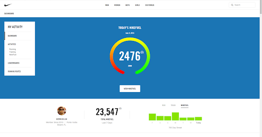 New Nike+ website but where are my Nike plus trophies?