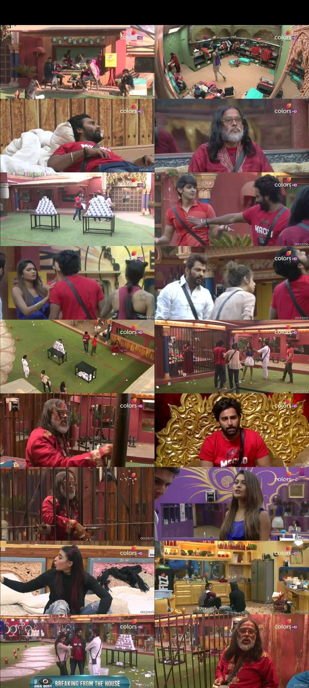 Screenshots Of Hindi Show Bigg Boss 10 5th January 2016 Episode 82 300MB 480P HD