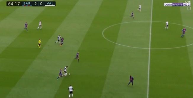 فيديو  مباشر برشلونة يتقدم على فالنسيا بهدفين دون رد فى الدورى الاسبانى